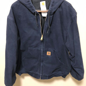 Navy blue Carhartt jacket